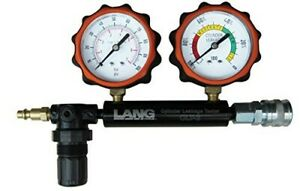 Lang Tools Clt 2 100 Psi Cylinder Leakage Tester With 2 Gauges