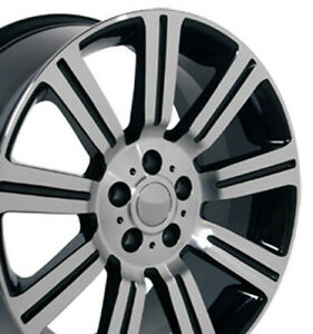 Npp Fit 20 Wheel Land Rover Discovery Stormer Lr01 Blkmach 20x9 5 72200