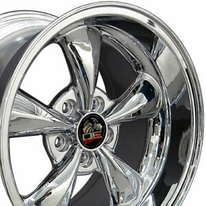 Npp Fit 17 Wheel Ford Mustang 19942004 Bullitt Fr01 Chrome 17x10 5 3448