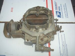1970 Ford Thunderbird 429 Autolite 4 Barrel Carburetor 4300 70 T Bird D0sf F