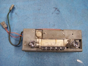 Mopar 65 Dart Am Radio Works Great Model 223 Works Great