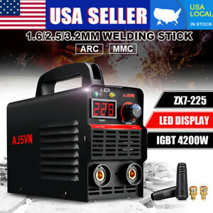 Us 220v 20a 225a Lcd Welding Inverter Machine Mma arc Stick Welder Igbt