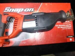 Snap On Cordless Reciprocating Saw 18v Monsterlithium Battery Not Included