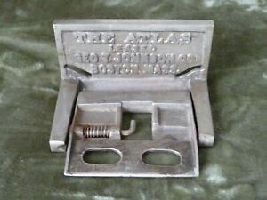 Antique Cast Iron Toilet Paper Holder The Atlas Leased By Geo Johnson Co Boston