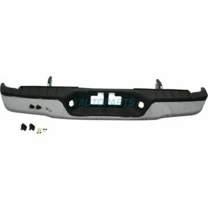 New Rear Step Bumper Assembly Fits 2007 2013 Toyota Tundra To1103117
