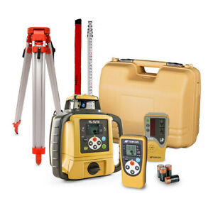 Topcon Rl sv1s Self leveling Single Grade Rotary Laser With Receiver
