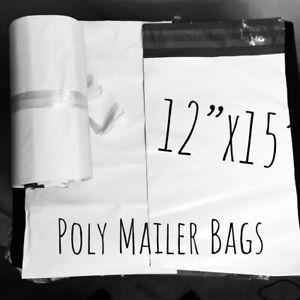 400 12x15 Poly Mailers Shipping Bags Envelopes Self Sealing