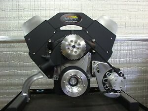 Chevy Gasser Billet Pulley Kit For A Big Block Chevy