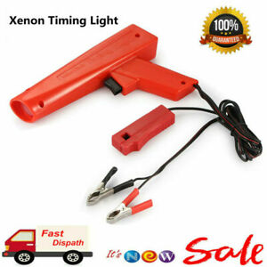 Car Led Xenon Bulb Advance Dial Timing Light Engine Motor Automotive Tune Up New