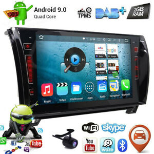 9 Android Car Radio Gps Navi Stereo For Toyota Tundra Sequoia 2008 2013 No dvd