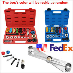 22 Pcs Boxed Car Suv A c Fuel Transmission Line Disconnect Tool Set Usa Shipping