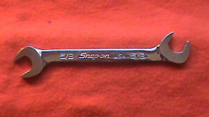 Snap On Usa 5 8 4 Way Angle Head Plus Open End Wrench Svs20