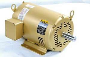 New 37b101r503g1 Baldor 15hp Super e Electric Motor