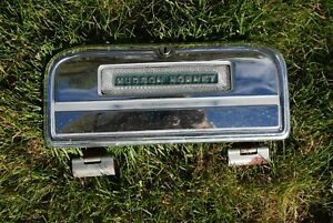 1951 52 53 Hudson Hornet Chrome Glove Box Lid Assembly