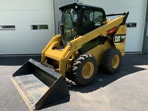 2016 Cat Caterpilar 262d 2 speed Heat A c Air Ride Seat Camera Quick Attach
