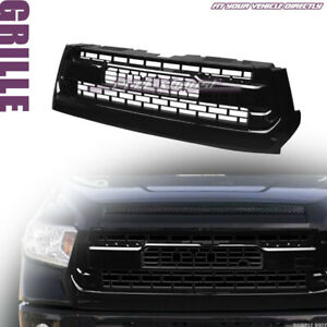 Clearance Fits 2014 2017 Toyota Tundra Front Grille Glossy Black