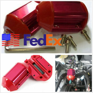 Universal Car Offroad Red Magnetic Economizer Engine Gas Fuel Saver Usa Shipping