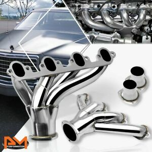 For Ford Bbc Big Block 429 460 V8 Stinless Steel Hugger Exhaust Header Manifold