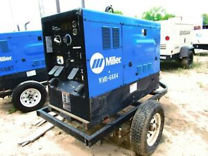 2013 Miller Big Blue 400d Diesel Welder