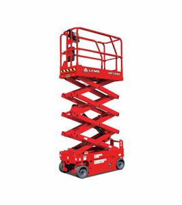 25 Ft Scissor Lift brand New Lgmg As1930 6 long 29 W for Indoor Use Only