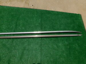 1942 1947 Ford Quarter Panel Trim Spears 63 7 8 Inches Long 1946