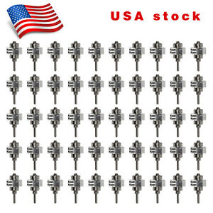50 dental Turbine Cartridge Rotor Fit Big Torque Led E generator Handpiece Usa