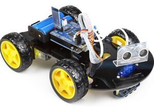 Uctronics Smart Bluetooth Robot Car Kit Uno R3 For Arduino Line Tracking Ult