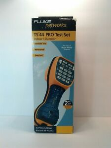 Fluke Networks Ts44 Pro Test Butt Set Brand New In Original Box As Shown