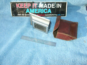 Square Beveled Edge Precision 1 2 X2 8 X3 9 Surface Plate Toolmaker Machinist