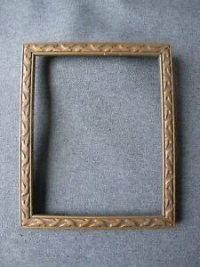Vintage Decorated Golden Wooden Small Picture Frame 9753j