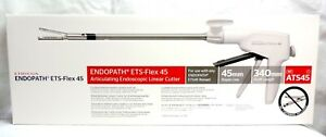 Ethicon Ets flex 45 Articulating Endoscopic Linear Cutter Ats45 45mm 03 2022