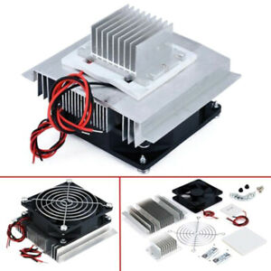 Tec1 12706 Thermoelectric Peltier Module Water Cooler Cooling System Diy Kit