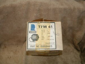 Brand New Tecumseh Model Tfm41 Small Electric Motor 810eoo4a75