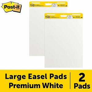 Post it Super Sticky Easel Pad 25 X 30 Inches 30 Sheets pad 2 Pads Large