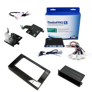 Radio Replacement Adapter W dash Kit Mount Single Or 2 din Antenna For Sienna