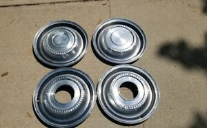 74 International Scout Wheel Cover Hubcaps Set