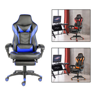 Ergonomic Computer Gaming Chair Pu Leather High Back Office Racing Chairs