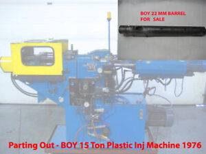 22 Mm Injection Barrel Boy 15 Ton Plastic Injection Molding Machine Parting Out