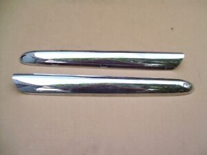 Nice Used 1947 1948 1949 Studebaker Champion Grille Moulding Pair