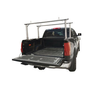 Universal Aluminum Truck Pick Up Rack Contractor Adjustable Carrier 400 Lb Cap