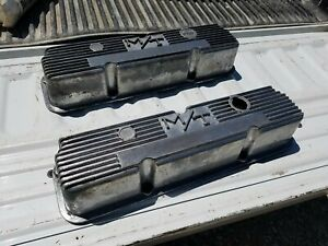 Ford 390 428 Fe Vintage M T Valve Covers Nice
