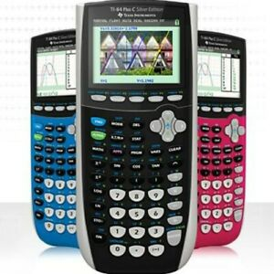 Texas Instruments Ti 84 Plus C Silver Edition Calculator Choose From 5 Colors