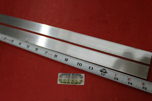 2 Pieces 1 4 X 1 Aluminum 6061 Flat Bar 15 Long T6511 Solid Mill Stock Plate