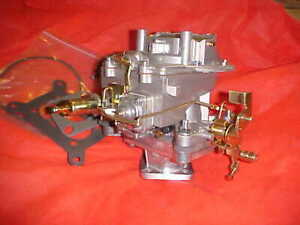 1 Barrel To 2 Barrel Carburetor Adapter With New Autolite Style 2100 Carb most 6