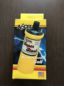 Accel 8140 Universal Ignition Coil Super Stock High Performance Coil Nib