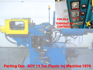 Plastomatic Temperature Controller Boy 15 Ton Plastic Injection Molding Machine