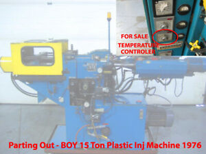 Temperature Controller Plastomatic Boy 15 Ton Plastic Injection Molding Machine