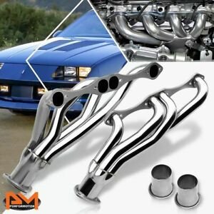 For Chevy Pontiac Buick Sbc 265 400 Small Block Stainless Steel Exhaust Header
