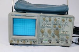 Used Tektronix 2465 300 Mhz Analog Oscilloscope 4 Channel Powers On