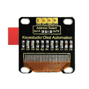 Keyestudio 0 96 Inch 128 X 64 Pixels Oled Display Module For Arduino